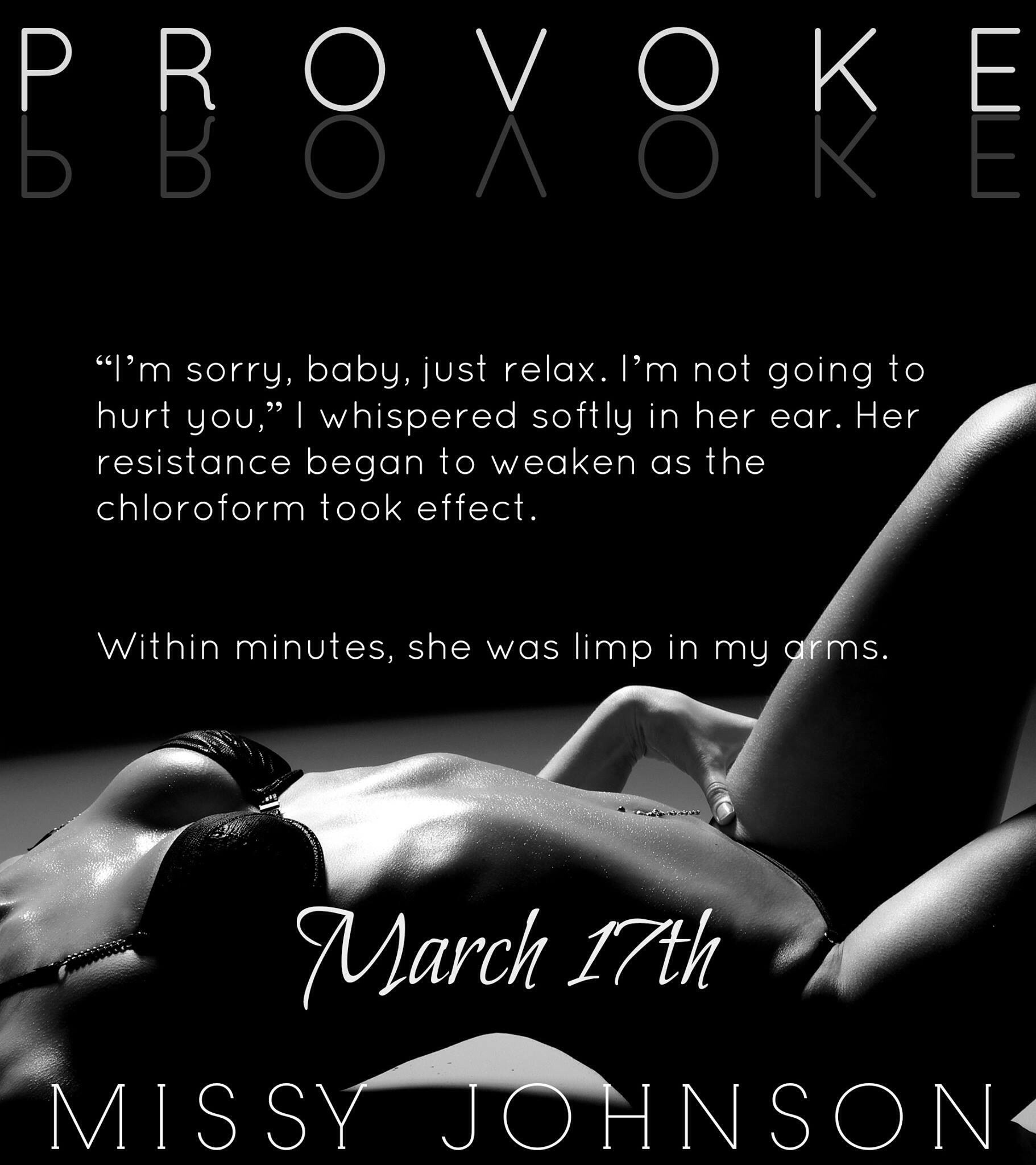 Provoked by Missy Johnson